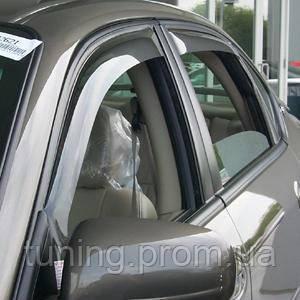 Дефлекторы окон (ветровики) Hyundai Azerа 2006-2012