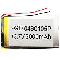 Внутренний Аккумулятор 04*60*105  (3000 mAh 3,7V) AAA класс