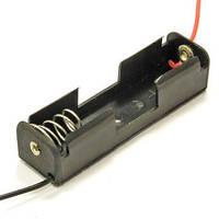 """Корпус для одной батарейки типа """"АА"""", 17х58мм, с проводами"""