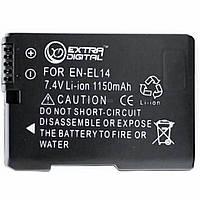 Аккумулятор к фото/видео EXTRADIGITAL NIKON EN-EL14 Chip (BDN2522)