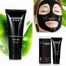 Маска для лица. Черная маска Xiuzilm. Глубокое очищение кожи акне Remover клубника носа Черная грязь, 60 гр*
