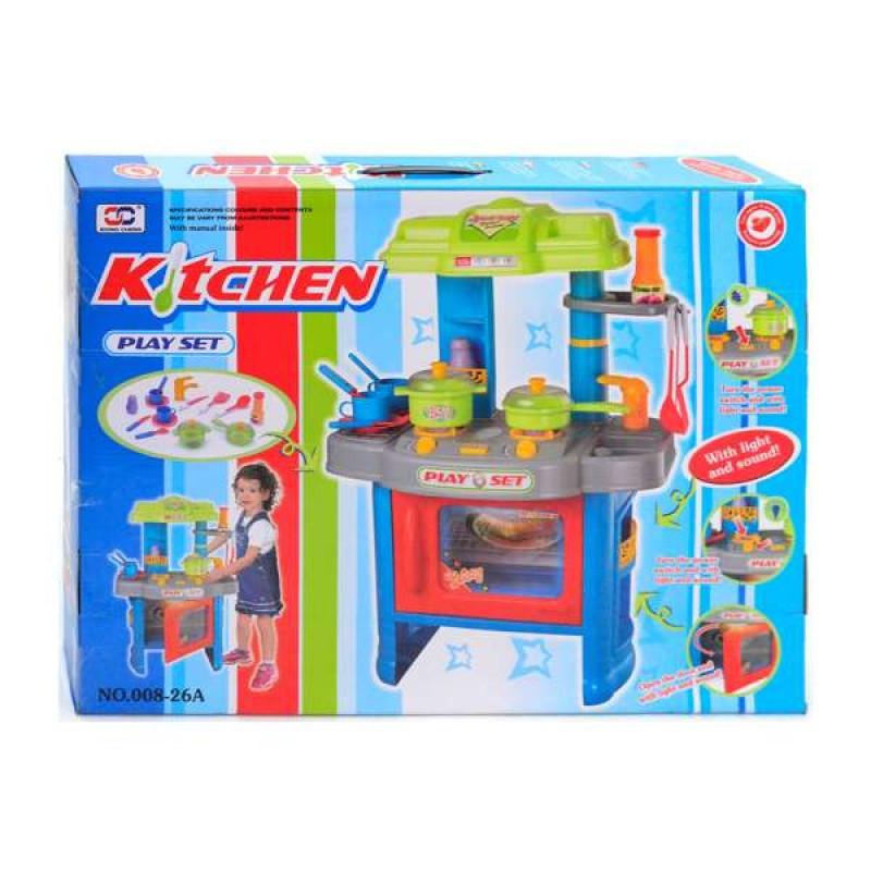 Кухня 008-26А для девочки муз свет