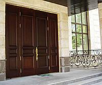 Входные двери из дерева