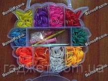 Набор Loom Bands резинок для плетения браслетов 550 шт, фото 3