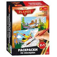 Раскраски по номерам Самолеты 14153042