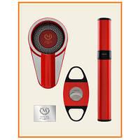 Myon Set - пепельница/резак/тубус Racing Edition Red