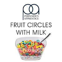 Ароматизатор TPA Fruit Circles Wth Milk 5 ml (фруктовые колечки с молоком)