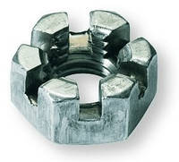 Гайка рулевой тяги Ваз 2101-2107 корончатая (14х1,5) Белебей