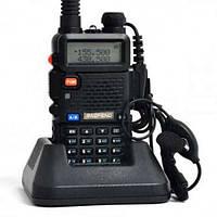Рация Baofeng UV-5R Black (с гибкой антенной)