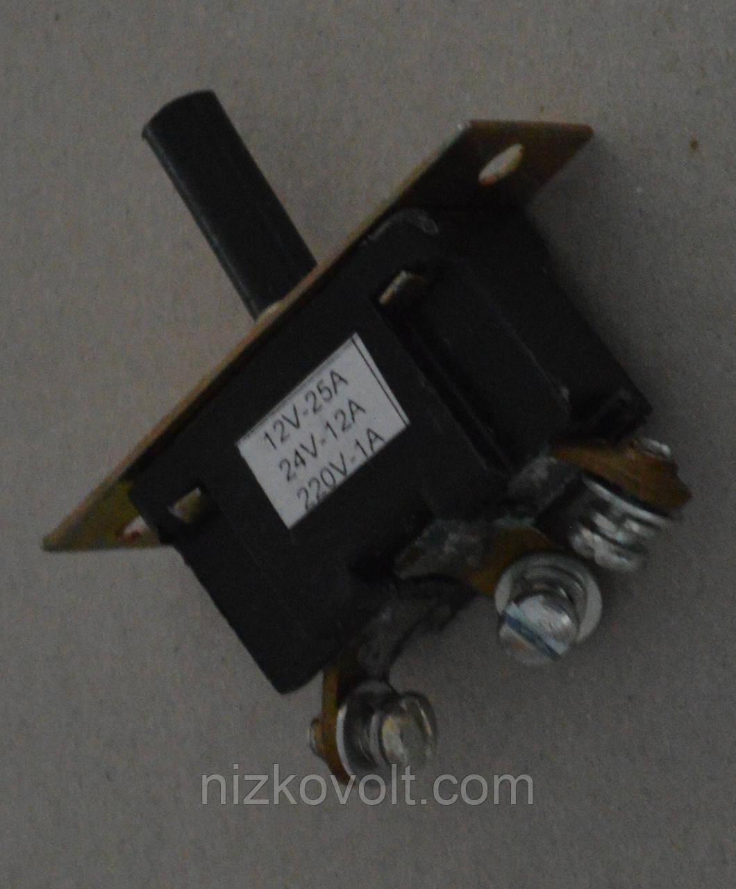 Переключатель - тумблер ПТ-18-25-2112-30УЗ (аналог ПН-45 М-2) серебро