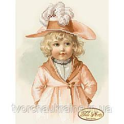 Схема для вышивания бисером Малышка Эльза