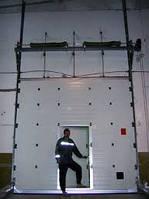 Монтаж секционных ( гаражные, промышленные ) ворот.