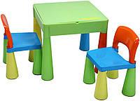 Детский стол MAMUT TEGA+ 2 стула цвет мультиколор оригинал
