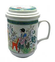 "Чашка заварник с ситечком ""Гейша"" (330 мл)"