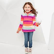 Флисовый пуловер на девочку 1, 2, 3 года The Children's Place (США)
