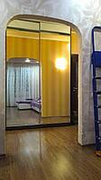 Шкаф купе,  зеркальные двери