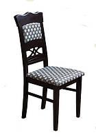 Крепкий и элегантный деревянный стул из массива хвойных пород деревьев. Модель ЖУР-8