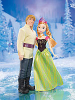 Набор кукол Холодное сердце Анна и Кристоф  Disney Frozen Anna and Kristoff Doll