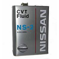 Трансмисcионное масло NISSAN CVT Fluid NS-2 4л