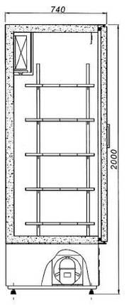 Холодильный шкаф Cold BOSTON S 700, фото 2