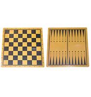 Доска ламинированная для шашек, шахмат и нард. 44х44 см.