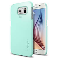 Чехол Spigen для Samsung S6 Thin Fit, Mint, фото 1