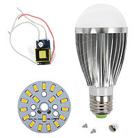Светодиодная (LED) лампа SQ-Q03 5730 9 Вт, теплый белый, E27 (комплект)
