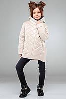 Детская весенняя куртка для девочки Мия, р-ры 28,30,32,34,36,38,40,42
