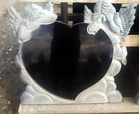 Памятник детский с ангелочками №23