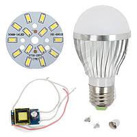 Светодиодная (LED) лампа SQ-Q02 5730 7 Вт, холодный белый, E27 (комплект)