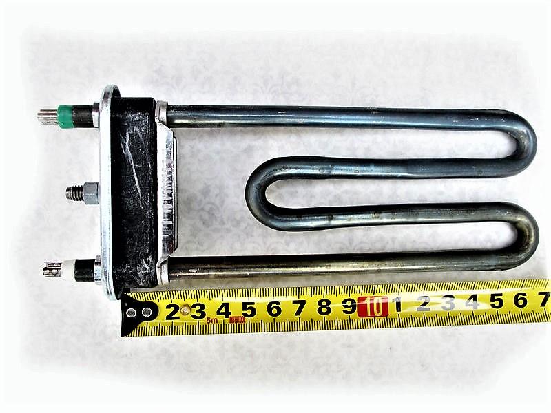 Тэн для стиральной машины Indesit, Ariston 1700 Вт с отверстием под датчик
