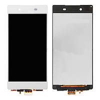 Дисплей (LCD) Sony D6603 Xperia Z3/ D6633/ D6643/ D6653 Xperia Z3 с сенсором белый