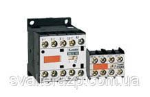 Миниконтакторы серії BG (від 6А до 12А, монтаж - площину або DIN-рейка)