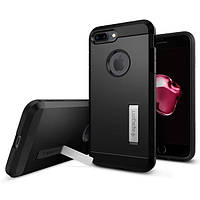 Чехол Spigen для iPhone 7 Plus Tough Armor, Black, фото 1