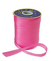 Косая бейка (атласная) - цвет розовый