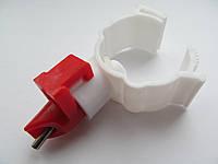 Ниппельная поилка для уток и гусей  360˚(под круглую трубу)