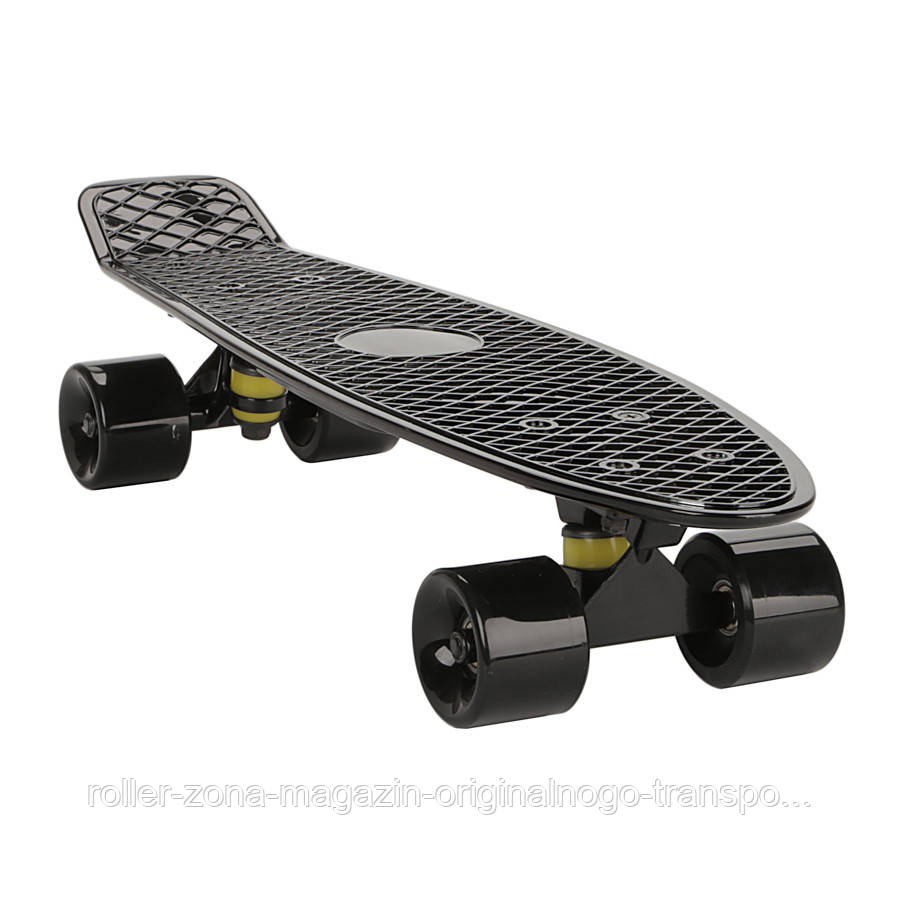 "Penny Board Candy 22"" Black Chrome"