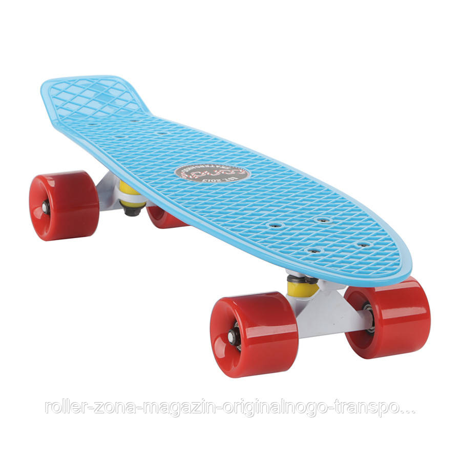 """Penny Board Candy 22"""" Blue Red"""