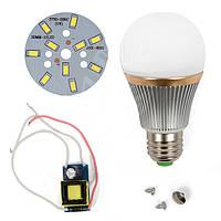 Светодиодная (LED) лампа SQ-Q22 5730 5 Вт, холодный белый, E27 (комплект диммируемый)