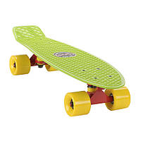 "Penny Board Candy 22"" Green Yellow"