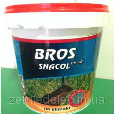 Инсектицид Bros Snakol Метальдегид от слизней 1 кг BROS
