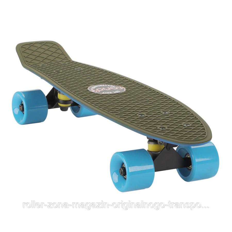"Penny Board Candy 22"" Haki Blue"