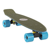 "Penny Board Candy 22"" Haki Blue"