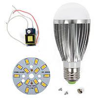 Светодиодная (LED) лампа SQ-Q03 5730 7 Вт, теплый белый, E27 (комплект диммируемый)