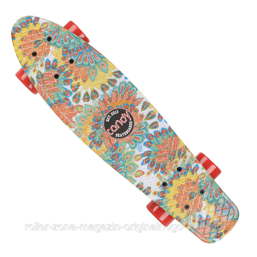 "Penny Board Candy 22"" Peacock Red"
