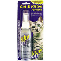 Урин-Офф (Urine Off) раствор для выведения пятен и запахов мочи котов 200 мл США