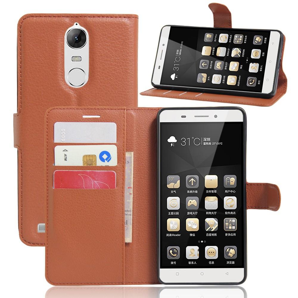 Купить Чехол Lenovo A7020 / A7020a40 / A7020a48 / Vibe K5 Note / Vibe K5  Note Pro книжка PU-Кожа коричневый в