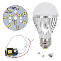 Светодиодная (LED) лампа SQ-Q02 5730 5 Вт, теплый белый, E27 (комплект диммируемый)