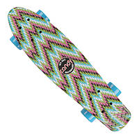 "Penny Board Candy 22"" ZigZag"