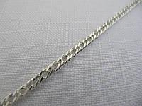 Серебряная цепочка ДВОЙНОЙ РОМБ, РОМБО, РЕМБО (4-8 грамм)
